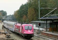 5 370 010 (Daniel Wirtz) Tags: 370 pkpic370 pkp 5370010 taurus es64u4 wilhelmshagen berlin pkpic pkpintercity berlinwarszawaexpress ec55