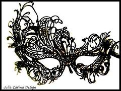fekete csipke maszk juliacarinadesign (JÚLIA CARINA DESIGN) Tags: gothic fekete svart black maskue maszk álarc farsang szilveszter halloween kiegészitő julia carina mask állarc velence carneval bál design budapest madeinhungaryszemállarc