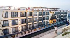 The cruise ship (Michael Olea) Tags: 2015 travel egypt africa adventure northafrica aswan