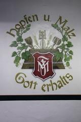 Hopfen und Malz - Gott erhalt's (dididumm) Tags: hops malt god beer privatebrewery gott malz hopfen privatbrauereimoritzfiege bier bernstein bochum nrw germany extraschicht2017