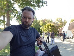 Smokin (Dustin Ledden) Tags: stunt stunts breakaway glass special effects arrow gag actors reliant movie film
