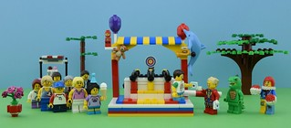 �Working LEGO Shooting Gallery Game🎈