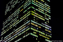 Chicago - Jewels (www.karltonhuberphotography.com) Tags: 2017 abstract chicago citystreets colorful downtown highrise illinois karltonhuber light lookingup modern nightphotography officetower pattern shapes silhouette skyline streetphotography streetscene tall urban vivid windows
