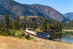 Day Gas (shawn_christie1970) Tags: plains montana unitedstates us mrl montanaraillink daygas gas flatheadriver emd mrl4406 mrl4408 sd70ace railroad