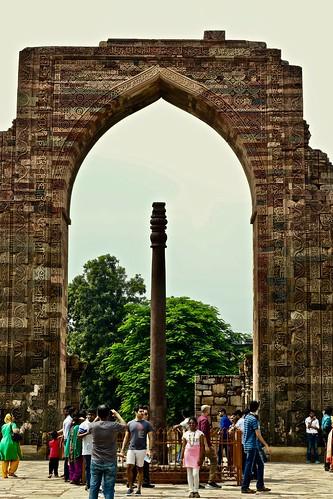 Iron Pillar of Qutub Minar