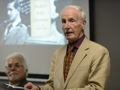 Library Event: Occasion marking the acquisition of poet Maurice Harmon's library and archive (UCD Library) Tags: institutesandcentres mauriceharmon ucdjamesjoycelibrary ucdlibraryspecialcollections print chrismurray belfield dublin ireland ie university college universitycollegedublin