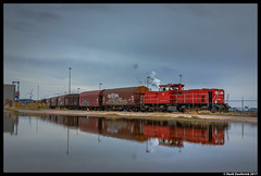 DB Cargo 6464, Amsterdam Westhaven 01-04-2017 (Henk Zwoferink) Tags: amsterdam noordholland nederland nl photoshop ps lightroom henk zwoferink db cargo 6464 mak