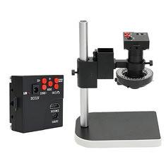 16MP 1080P 10X -100X HDMI Digital Microscope Industryt Camera Video Zoom Lens (1194460) #Banggood