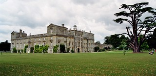 Le parc de  Wilton House (XVIIe-XIXe), Wiltshire, Angleterre, Royaume-Uni.