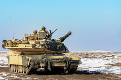 AN EYE ON INVENTORY (U.S. Army Acquisition Support Center) Tags: usareur strongeurope atlanticresolve poland 3rdarmorbrigadecombatteam 4thinfantrydivision 3abct 4id usarmy tanks m1a2 abrams gunnery swietozow pl