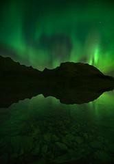 Midnight Magic (Dani℮l) Tags: lofoten norway landscape auroraborealis northernlights noorderlicht noorwegen arctic night star sterrrenlucht hemel sky clear danielbosma d750