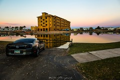 (Joshua Wells Photography) Tags: mustang 5d canonphotos canon ford car sunset water photoshoot arizona chandler