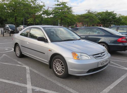 2002 Honda Civic Coupe 1.7 Auto
