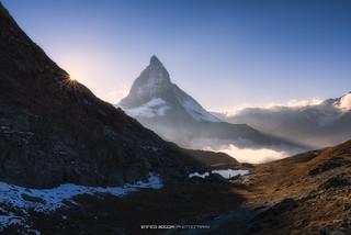 #015 Matterhorn - Waiting for sunset
