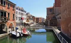 The relaxing atmosphere of Chioggia island (B℮n) Tags: chioggia veneto lagoon island cathedrale fishmarket harbor fishing port pace life italië italia italy ronams clodia seafood panorama panoramico boat ships tour locals canals boats unspoiled bridgde town colors tourism vacation holiday summer architecture historic authentic canal vena bridge historical comunedichioggia comune di municipio biking bike cycleways cycling parrocchiadisangiacomoapostolo parrocchia giacomo apostolo 50faves topf50 100faves topf100