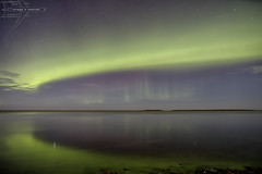 Arcus Maximus (Winglet Photography) Tags: wingletphotography northernlights auroraborealis georgewidener stockphoto solarstorm aurora geomagnetic earth sun canon 7d storm solar georgerwidener night nighttime longexposure dark inspiration lights colors sky manitoba canada heclaisland gullharbour heclaprovincialpark noss satellite reflection beach water rocks lakewinnipeg arc