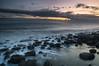 Rhoose Beach (Welsh Photographer) Tags: pentax smc k3ii da 1650mm benbo formatt hitech wales welsh landscape seascape sea ocean beach rocks pebbles sunset