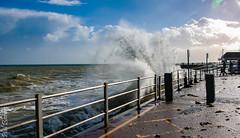 Sea spray (philbarnes4) Tags: spray broadstairs thanet kent england philbarnes dslr nikond80 coast view