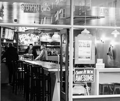 Awesome! (DavidHowarthUK) Tags: london coventgarden streetphotography october 2017 sigma50mm14art bw bar burritos