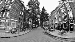 Rua sem fim (André Felipe Carvalho) Tags: holanda amsterdam preto branco pretoebranco