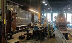 Loco 481 in Durango workshops DSC09518 Durango & Silverton RR (Recliner) Tags: baldwin dsng drg