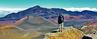 Maui, Amazing Haleakala crater