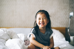 Cheeky. (MichelleSimonJadaJana) Tags: nikon d3s nikkor afs 50mm f14g f14 color fullframe ff documentary lifestyle snaps snapshot portrait childhood children girl girls kid jada jana china 中国 shanghai 上海