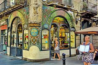 Art Déco Restaurant in Barcelona