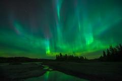 BOOM! (Len Langevin) Tags: auroraborealis northernlights alberta canada sundre reflection nature light nikon d7100 tokina 1116