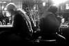 Frankfurt (Peter Gutierrez) Tags: photo europe european germany german deutschland deutsch hesse hessen frankfurt am main city urban street sidewalk pavement public altstad bar pub cafe café nocturne nocturnal nacht notte noche nui nighttime dark shadow shadows night time evening light lights black white bw schwarzes schwartz weis weiss peter gutierrez petergutierrez photograph photography film