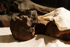 Mummy of Rameses I (Chris Irie) Tags: ramesesi rameses mummy egypt luxor pharaoh