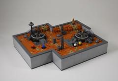 Colonization (dzambito42) Tags: lego mars space micro legomicro rover martian dome future