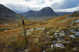 Heading Home - Buachaille Etive Mor, Scotland