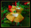 Longwood Gardens Flowers 17 - Anaglyph 3D (DarkOnus) Tags: pennsylvania bucks county panasonic lumix dmcfz35 3d stereogram stereography stereo darkonus longwood gardens flowers scenic scenery flower botanical garden popout ttw anaglyph
