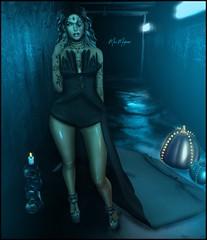 ● 749 in the dark ♪ (Mɪss Dɪᴀᴢ) Tags: runaway we love roleplay spellbound anxiety imitation supernatural bishes inc udesign the darkness event sp salem black fair 2017 catwa catya maitreya body nightmare ryca
