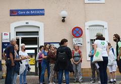 Arrivée gare de Bassens 9mn