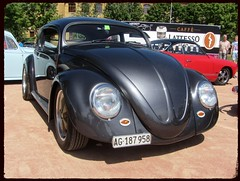 VW Beetle (v8dub) Tags: vw beetle top chop volkswagen fusca maggiolino käfer kever bug bubbla cox coccinelle ovale ovali oval kustom custom schweiz suisse switzerland german pkw voiture car wagen worldcars auto automobile automotive aircooled old oldtimer oldcar klassik classic collector