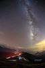 合歡星空 Galaxy, Mt.Hehuan _MG_3038 (阿Len) Tags: galaxy milkyway taiwan mthehuan 合歡山 合歡主峰 銀河 夏季銀河 人馬座 天蠍座 蛇夫座 stars 雲霧 光跡 light mist clouds 閃電 lightning 6d fisheye 魚眼 15mm ef15mmf28fisheye 流星