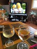 20171015_121906 (Michel Curi) Tags: gopackgo greenbay packers minnesota vikings nfl footbal television screen two champagne wine glasses table football livingroom indoors gbvsmin sunday