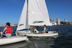 IMG_0567 (Foundry216) Tags: sailing sailor lake erie sail c420 water sports thisiscle cleveland