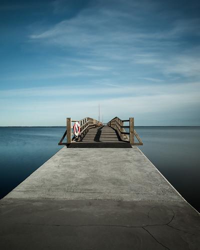 Raka vägen mot horisonten