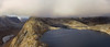 Tverrfjellvatnet at Kvaløya in Tromsø (kjetilpa - landscape and aerials) Tags: tverrfjellvatnettromsã¸kvalã¸yaclouds tverrfjellvatnettromsøkvaløyaclouds tverrfjellet tverrfjellvatnet tromsø kvaløya mountain clouds lake phantom dji ptgui panorama