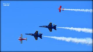 The Blue Angels & Team Oracle Fleet Week 2017