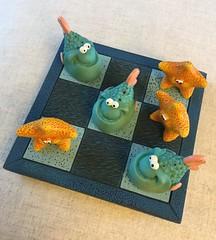 #BeautifulGeometry    FlickrFriday (Martellotower) Tags: flickrfriday beautifulgeometry noughts crosses fish starfish board game