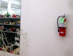 IMG_0040 (revjdevans) Tags: shreveport shreveportlouisiana goodwill thriftstore fireextinguisher mirror