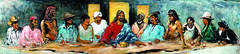 The Last Supper with Twelve Tribes, Hyatt Moore