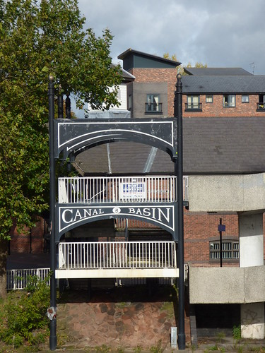 Canal Basin Bridge - Ringway St Nicholas, Coventry