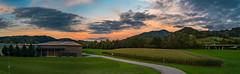 Hörnleberg/Schwarzwald 2017 (karlheinz klingbeil) Tags: schwarzwald hörnleberg panorama südbaden berg abend sonnenaufgang sunrise