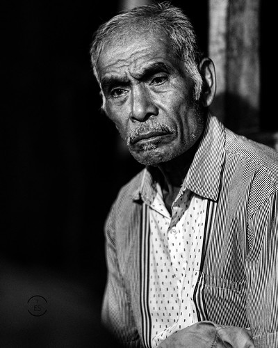 Old Man From East Sumba - Indonesia