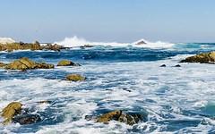 Restless Sea (EleveNateXI) Tags: waves rocks ocean shore coast westcoast california amazing restless sea pacific salty spray splash power earth wind water sky explore adventure photography whennaturelookslikeapainting lifeimitatingart